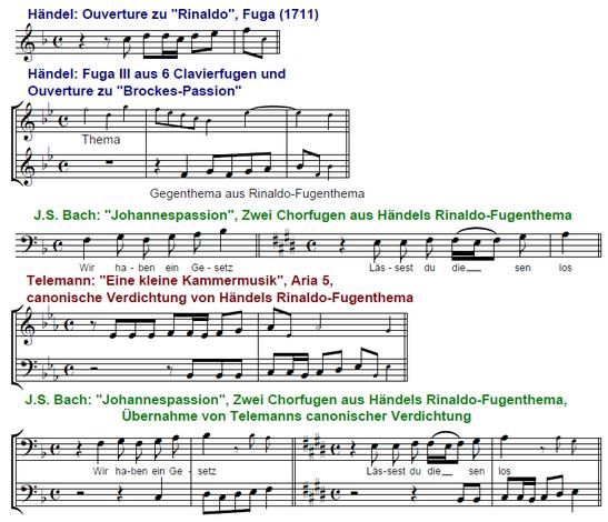 Telemann Bach Händel