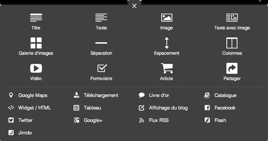 Comment modifier le contenu d'un site Jimdo?