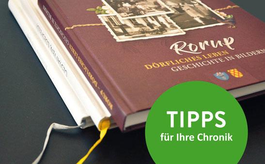 Tipps zur Planung einer Chronik / Festschrift