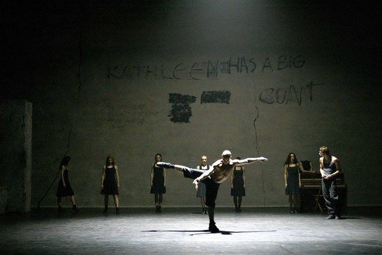 Kathleen, Dancers: Ederson Rodriguez, Adam Ster, Ensemble Scapino Ballet Rotterdam, 2004.