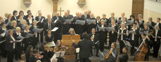 Kirchenchöre in der Region Schotten (Dekanatschortag 2012)