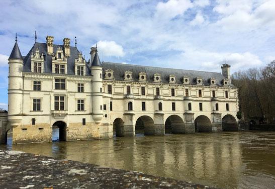 château de Chenonceau castelli della Loira Unesco Francia