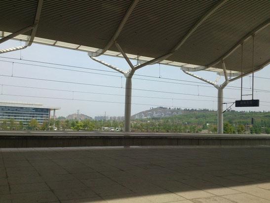 「徐州东站」まわりにはほとんど何もありません。