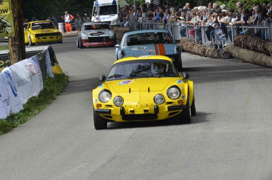 der gelbe Renault Alpin von Markus Michel