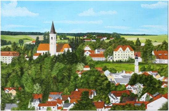 Nr. 144 Dorfen, Blick von Süden.