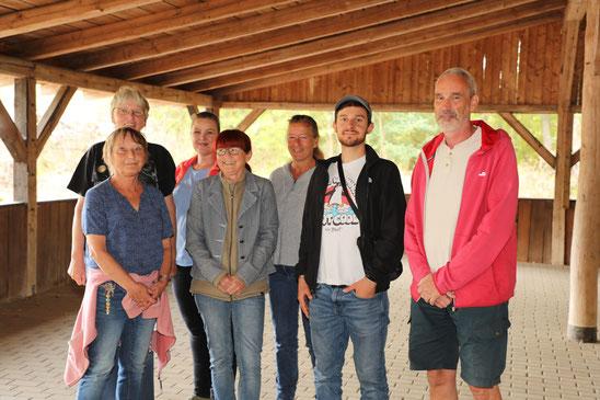 Vorstand der Nabu Ortsgruppe Oberes Kleebachtal