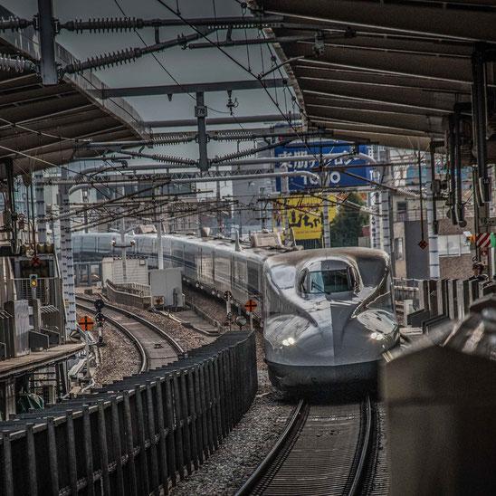 Il famosissimo Shinkansen
