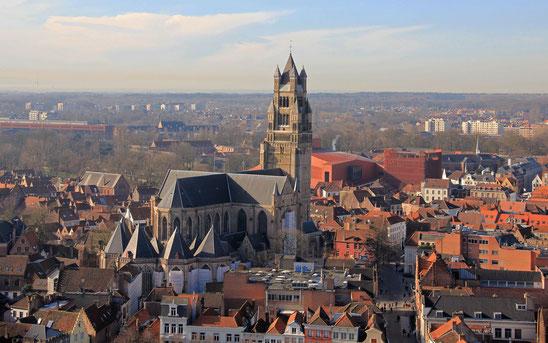 世界遺産「ブルージュ歴史地区(ベルギー)」、ブルージュのノートル・ダム教会