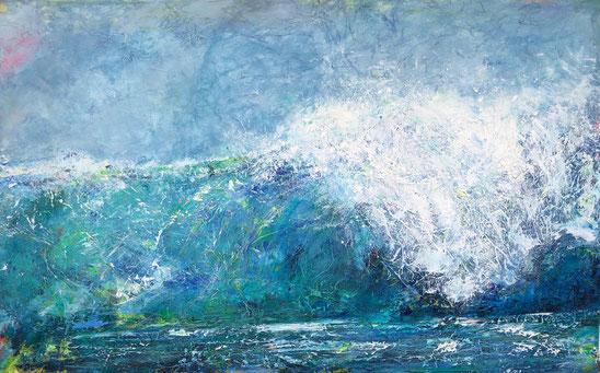 Welle 8  | Acryl-Mischtechnik | 80 x130 cm