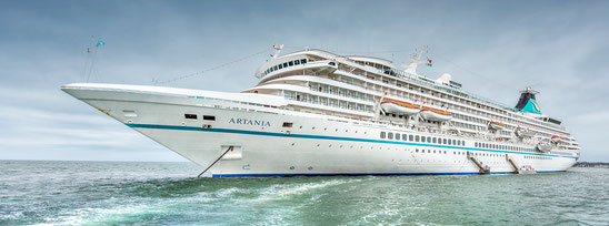 UPDATE: Quarantäne am 18.04.2020 beendet / Fremantle, Australien: MS Artania in Quarantäne