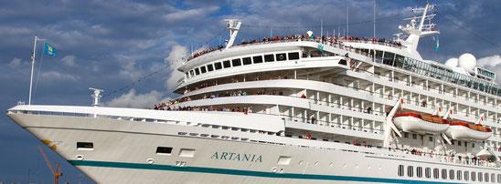 Phoenix Reisen: Rückholaktion von Passagieren der MS Artania aus Australien