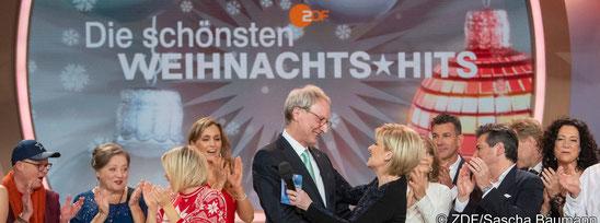 """1 Million Euro von Phoenix Reisen bei ZDF-Gala """"Die schönsten Weihnachtshits"""""""