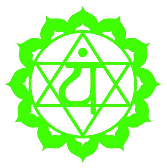 símbolo del cuarto chakra