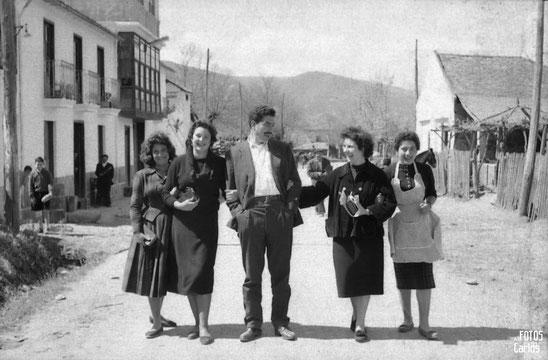 1958-La-Ribera-salida-misa-Carlos-Diaz-Gallego-asfotosdocarlos.com