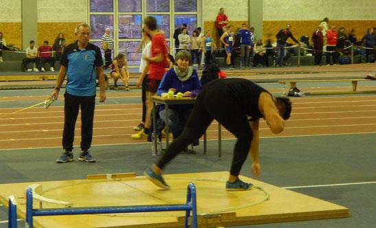 Das Training bei Helmut Zimmermann zahlt sich für Steffen Klein langsam aber sicher aus.