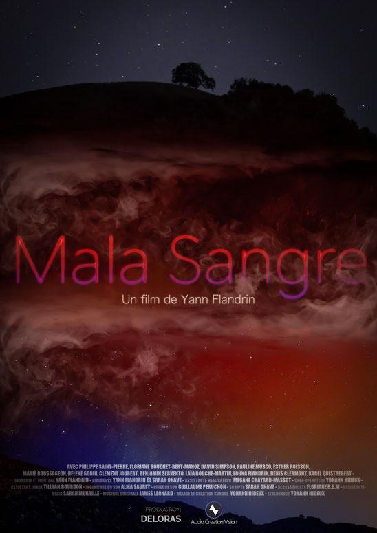 Affiche Mala Sangre Yann Flandrin - Audio Création Vision - Yohann Hideux