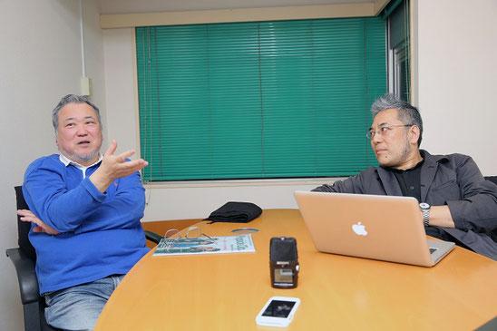 左:渡邊ケン 右:永田純