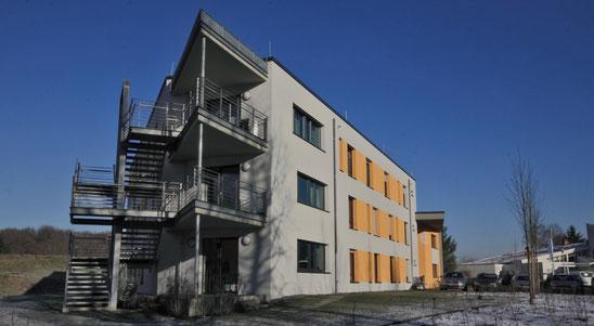 Wohnheim Ansicht Süd