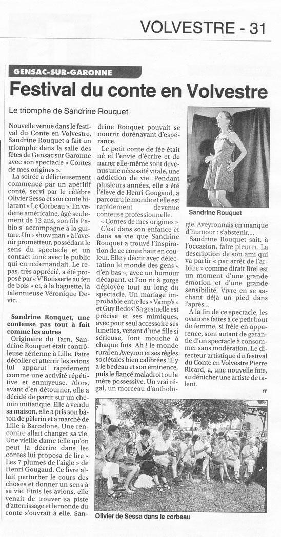Le petit journal, 13 Août 2014