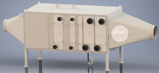 Cooling Dehumidifier Heat Exchanger