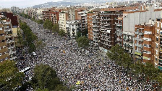 Национальный день Каталонии - Ла Диада