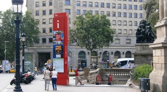 Где оформить Где оформить Tax Free в Барселоне: удобнее всего сделать это в офисе информации для туристов BARCELONA TURISME, расположенном на площади Каталонии ниже уровня земли. Вход в это славное место выглядит следующим образом: