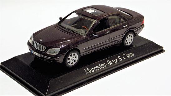Meercedes-Benz S-Class, 1:43, Maisto
