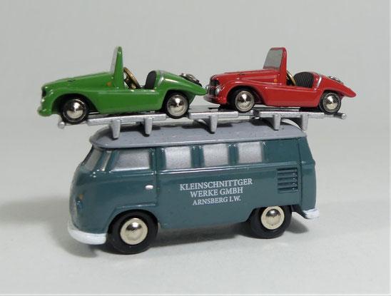 Schuco , 450519300, Piccolo, VW, T1 Bus ,Kleinschnitt