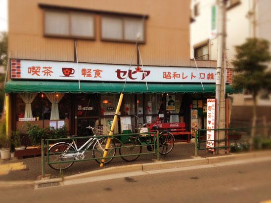 左手は京成金町線の線路と踏切です。柴又駅からは3,4分のところ