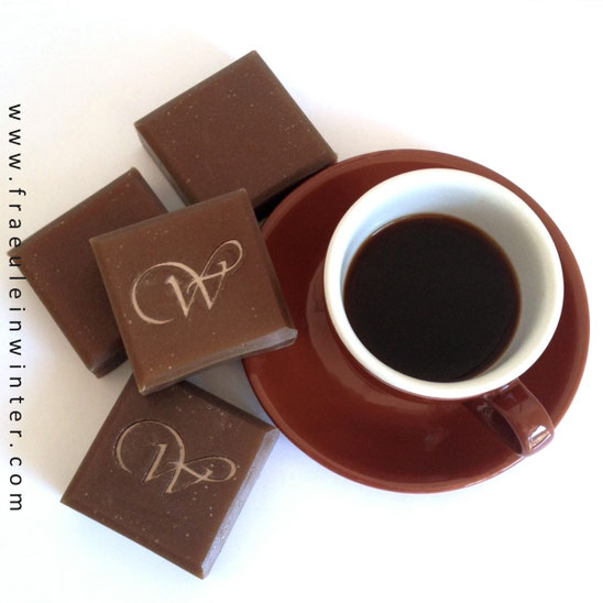 Kaffeeseife | Coffee soap | Handmade by Fraeulein Winter