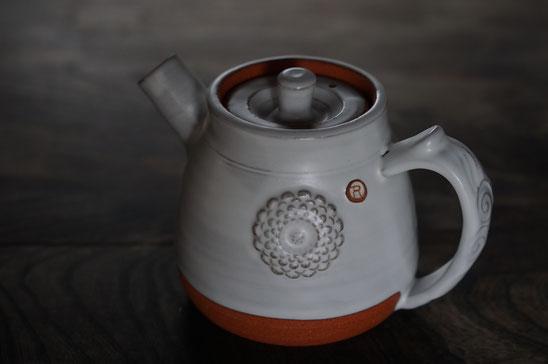 陶芸家 ブログ 土鍋作品 耐熱 直火 空焚き デザインが素敵 コーヒーポット 菊花