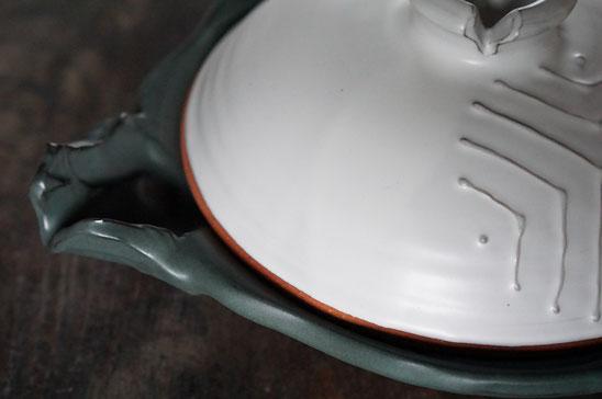 陶芸家 ブログ 土鍋作品 耐熱 直火 空焚き デザインが素敵 ごちそう土鍋