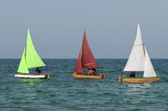 Paper8 - faltbares Segelboot
