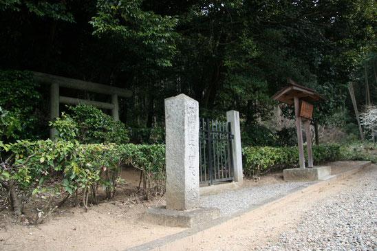 大伴皇女墓(桜井市 忍阪) - 一...