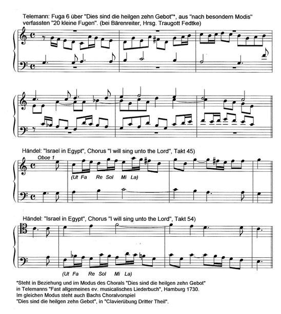 Telemann und Händel | Telemann and Handel