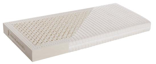 AIR Latex-Matratze von RELAX mit permanenter Luftzirkulation, Bezug Silverness