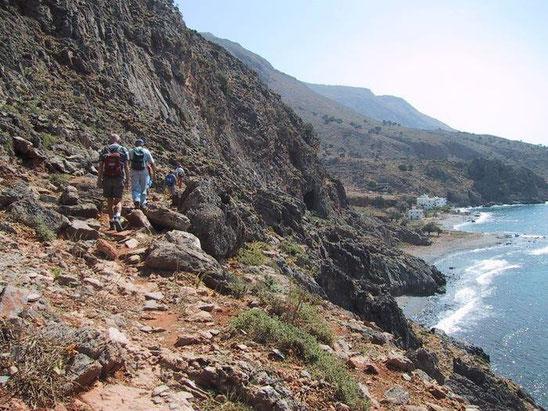 E4 from Marmara beach heading east towards Likos