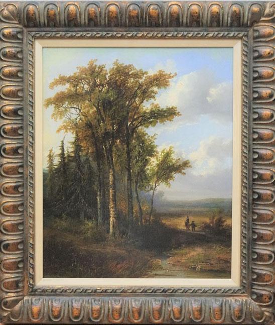 te_koop_aangeboden_een_19e_eeuws_olieverf_schilderij_van_de_nederlandse_kunstschilder_hermanus_jan_hendrik_rijkelijkhuysen_1813-1883