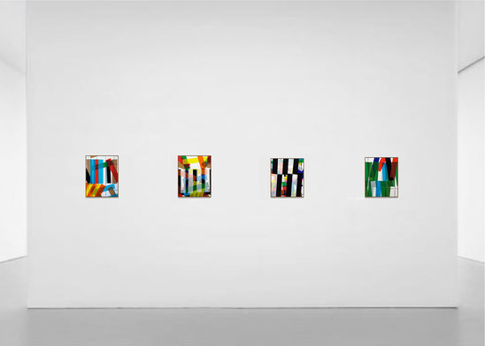 Travail de collage de l'artiste bordelais Laurent Valera
