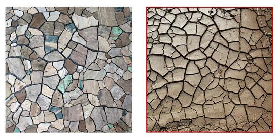 Migrations de planches de bois qui s'échouent à Pauillac. Beauté et mystère de cette oeuvre de l'artiste médocain Laurent Valera