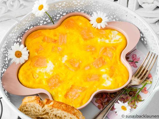 Eier mit Lachs