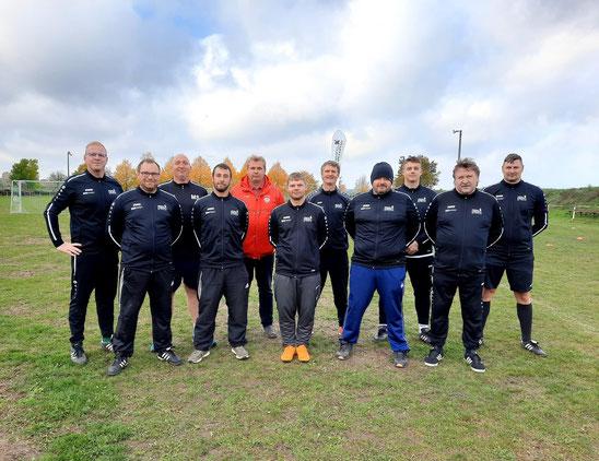 """Ein Teil unserer """"Trainer-Crew"""" beim Campo Ballissimo"""