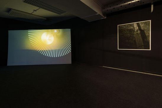 Installation view - Exhibition: FRAMED, Kunstraum Goethestraße xtd. Linz, Austria (Foto: Otto Saxinger)