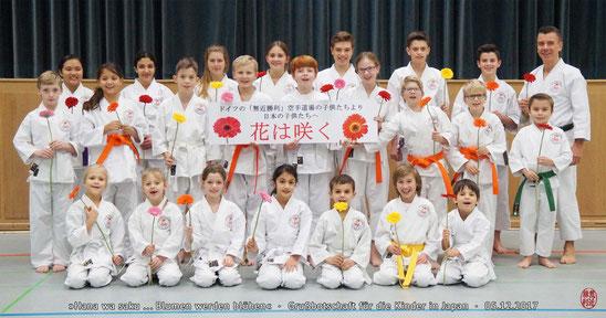 Karate Erlach, NHK, Hana wa saku, Blumen werden blühen