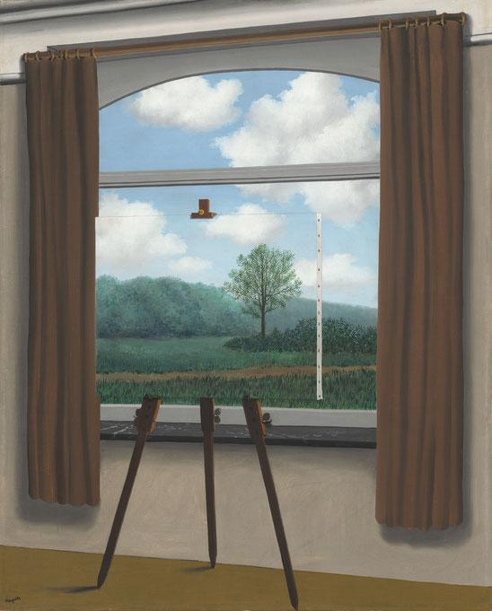 """R. Magritte, """"La condizione umana"""" (1933)"""