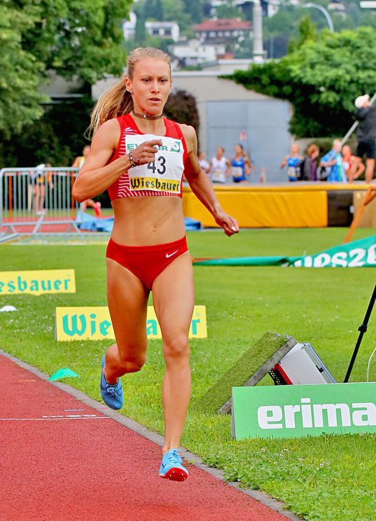 Julia Mayer Dsg Wien Läuferin Staatsmeisterin 2019 5000 meter bahn Tirol Innsbruck laufen sieg Bestzeit Europameisterschaft 2019