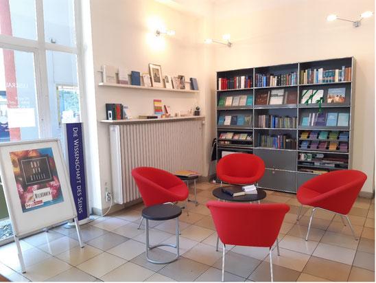 Ein Leseraum der Christlichen Wissenschaft in Berlin