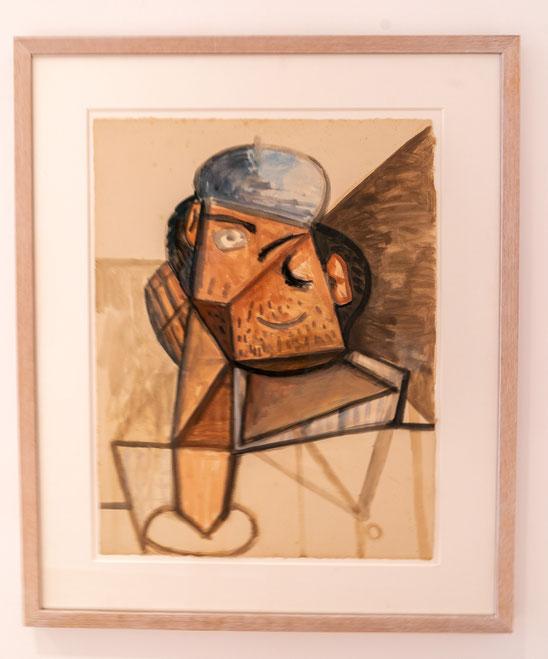 Bild: Gemälde von Pablo Picasso im Musée Picasso in Antibes
