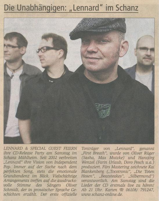 Offenbach Post, 4. Juni 2010