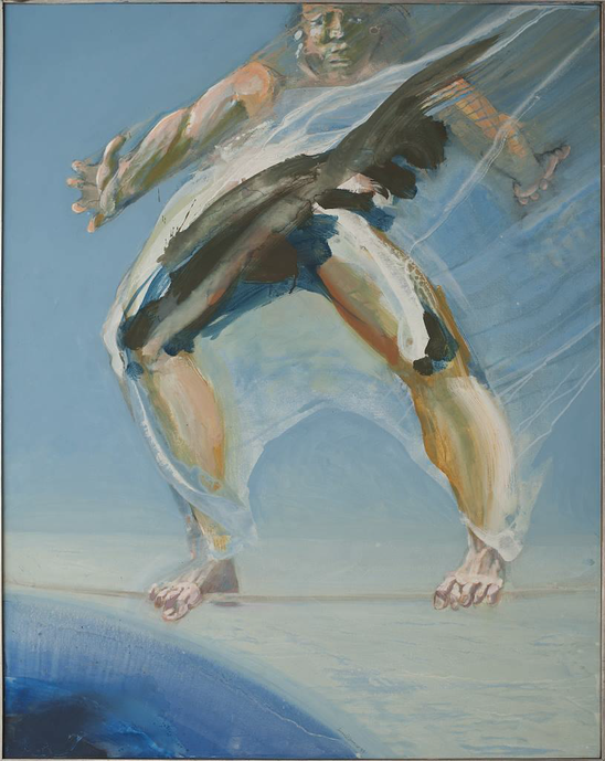 Im Moment - Acryl auf Leinwand, 1999  (140x110)